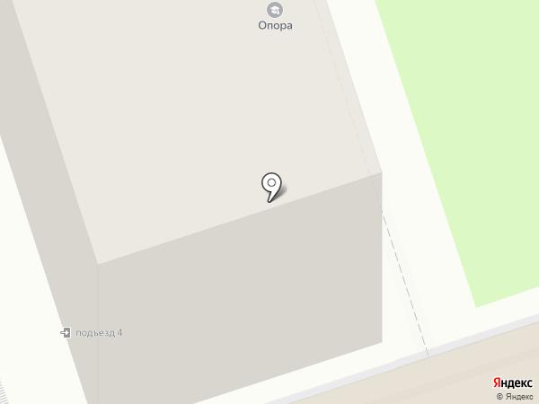 Плюс на карте Перми