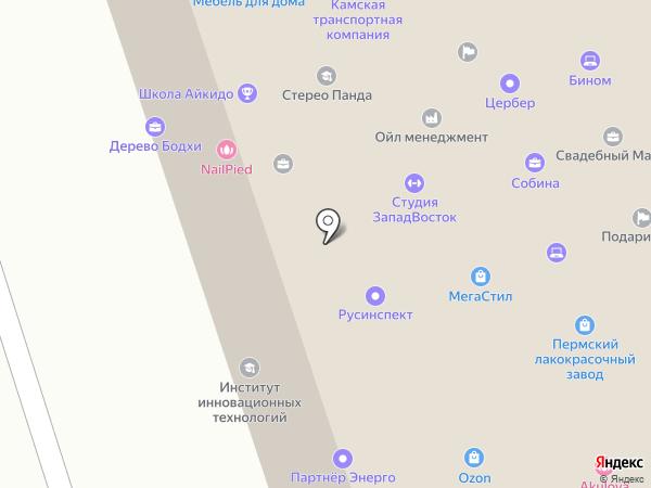 Пермский городской ломбард на карте Перми