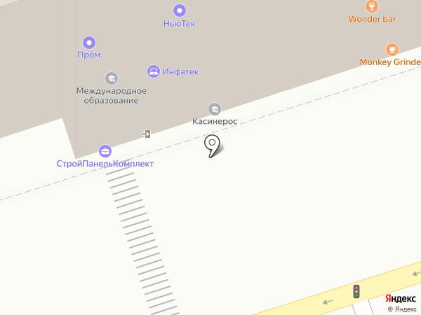AC AIR на карте Перми