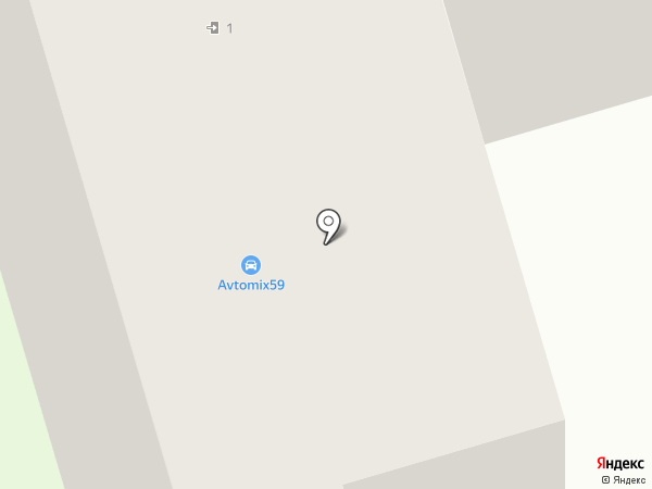 Далт на карте Перми
