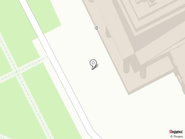 Пермская государственная художественная галерея на карте Перми