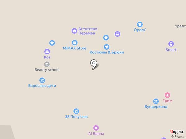 3Д Тек на карте Перми