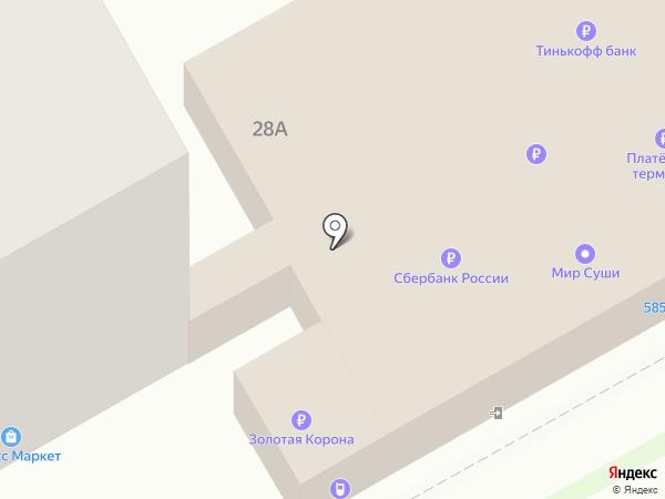 Автополка на карте Перми
