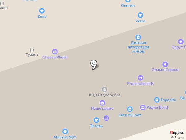Ruch на карте Перми