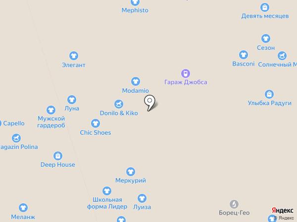 Corrida на карте Перми