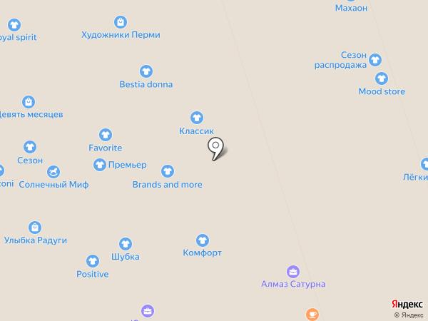 Bestia donna на карте Перми