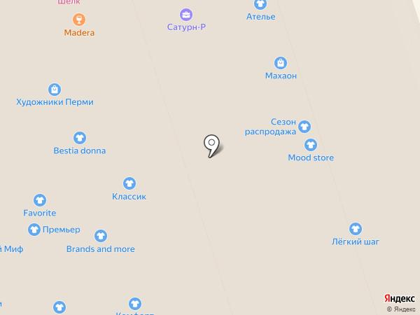 Светская львица на карте Перми