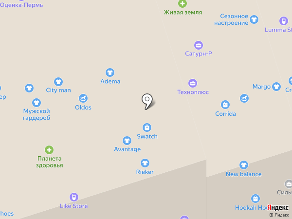 LERAY на карте Перми