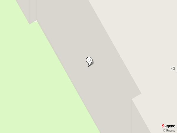 Луч на карте Перми