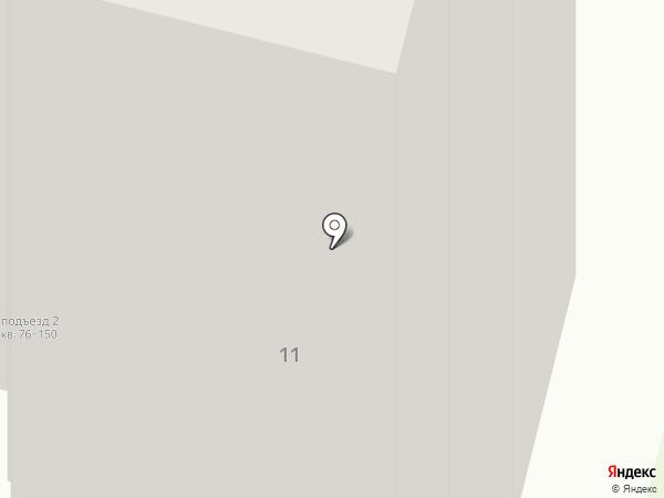 Детский сад №291 на карте Перми