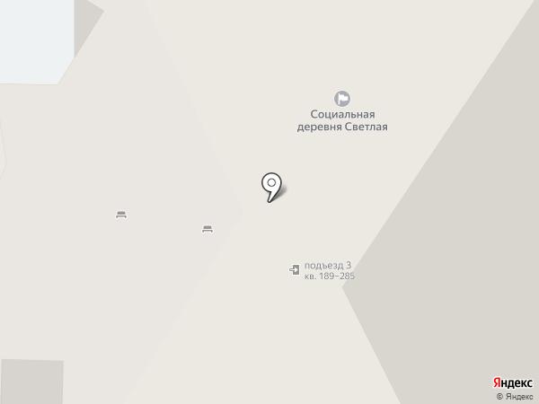 Парикмахерская на Новосибирской на карте Перми