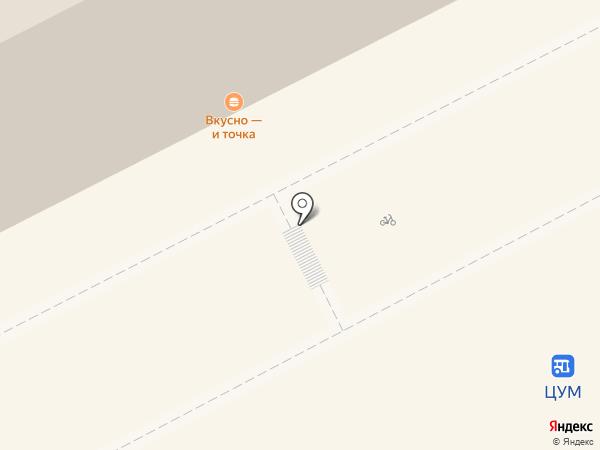 МакКафе на карте Перми