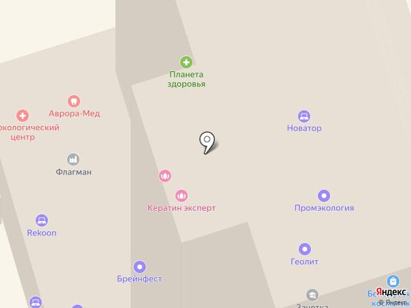 Простое решение на карте Перми