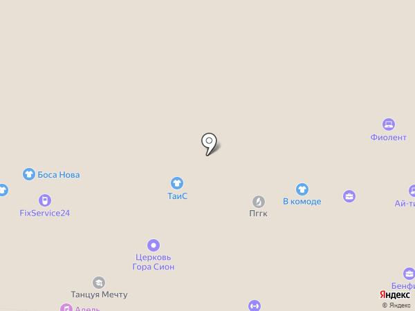 Игроград на карте Перми