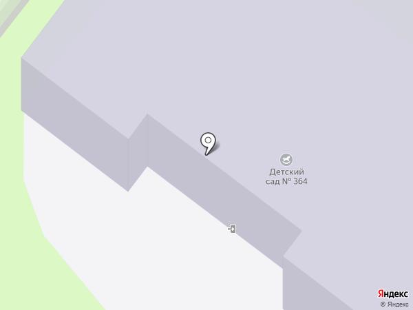 Детский сад №364 на карте Перми