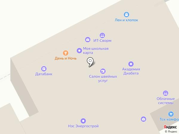 Индустрия информационных технологий на карте Перми