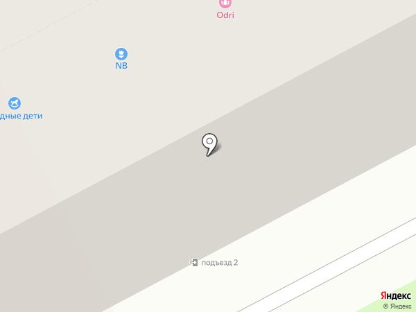 Шмель на карте Перми