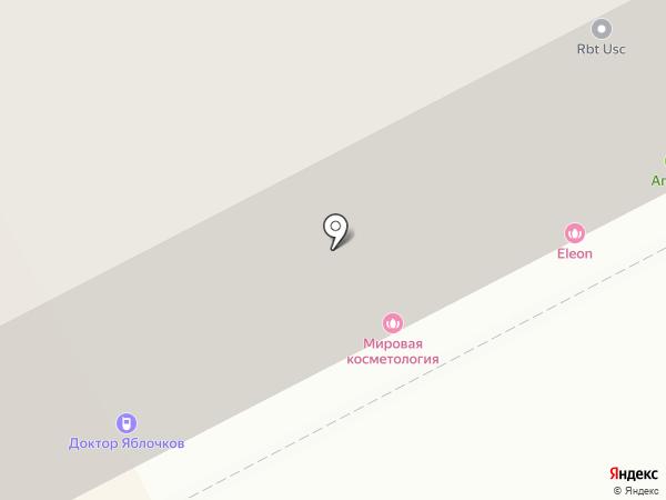 Пилигримм на карте Перми