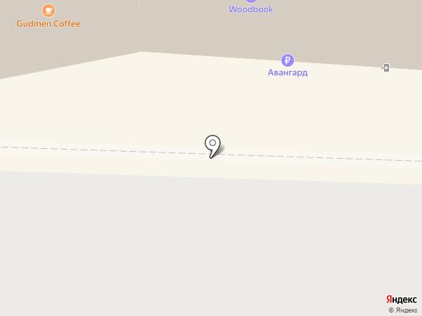 Клевер на карте Перми