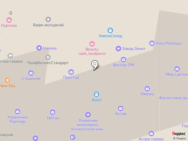 Omegatour на карте Перми