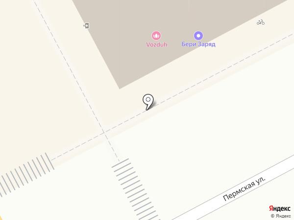 GSM на карте Перми