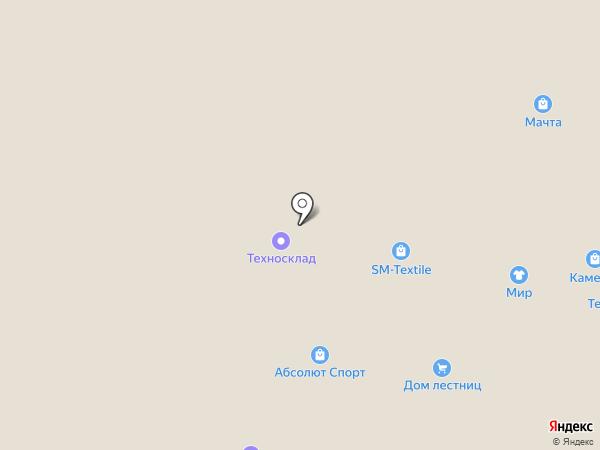 УДачный инструмент на карте Перми