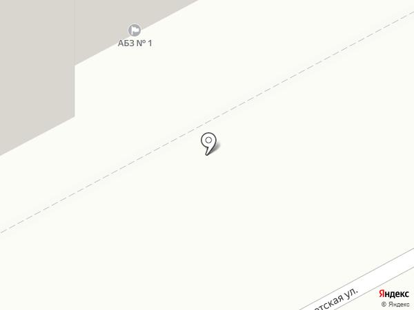 Асфальтобетонный завод №1 на карте Перми