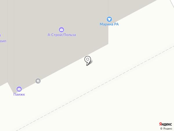 Виконт на карте Перми