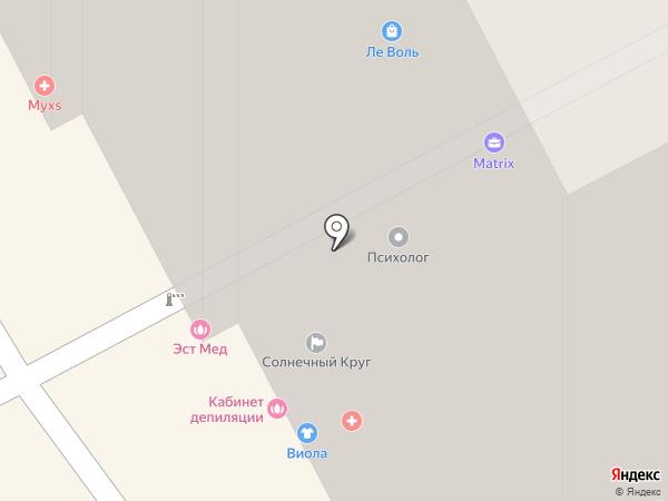 Центр психологии на карте Перми