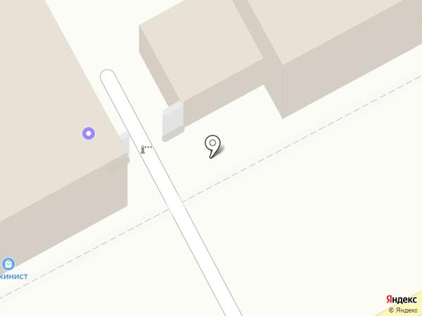 Терминал на карте Перми