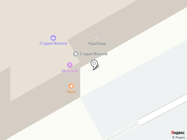 Большой на карте Перми