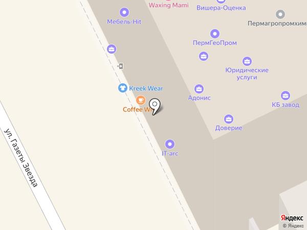Мобиле Лайт на карте Перми