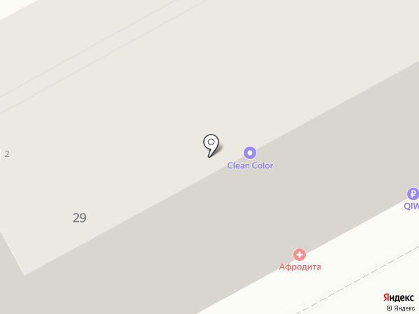 Афродита на карте Перми
