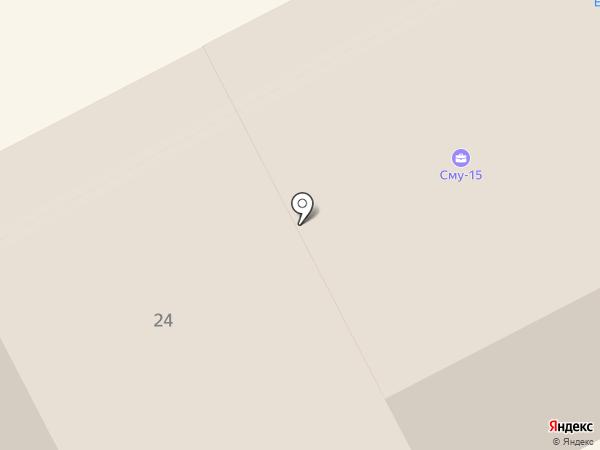Авангард на карте Перми