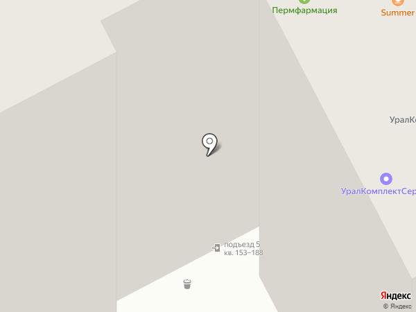 Мой Додыр на карте Перми