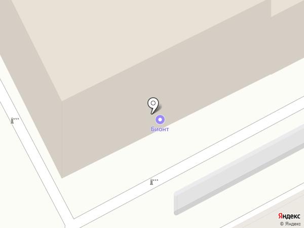 Би на карте Перми