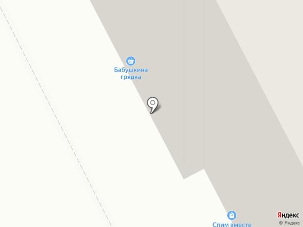Бабушкина грядка на карте Перми