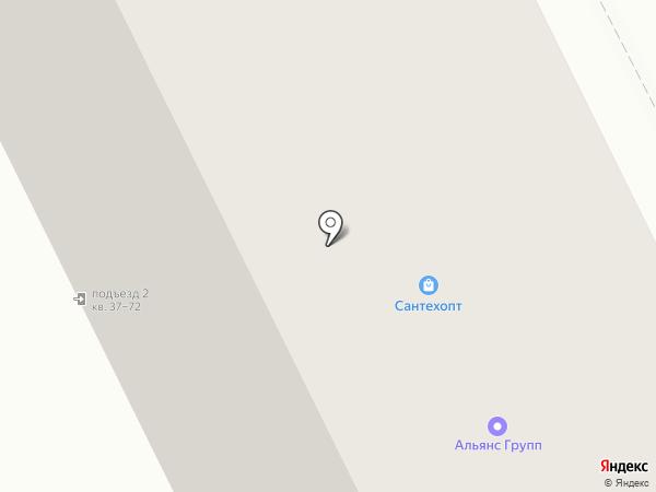 Альянс Групп на карте Перми