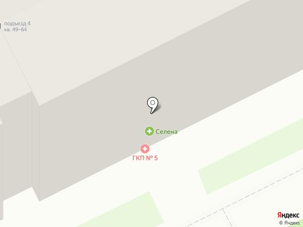 Стоматологическое отделение на карте Перми