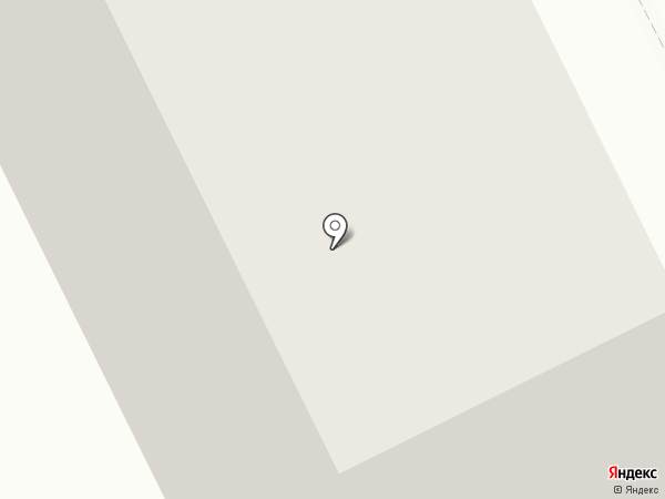 Белая цапля на карте Перми