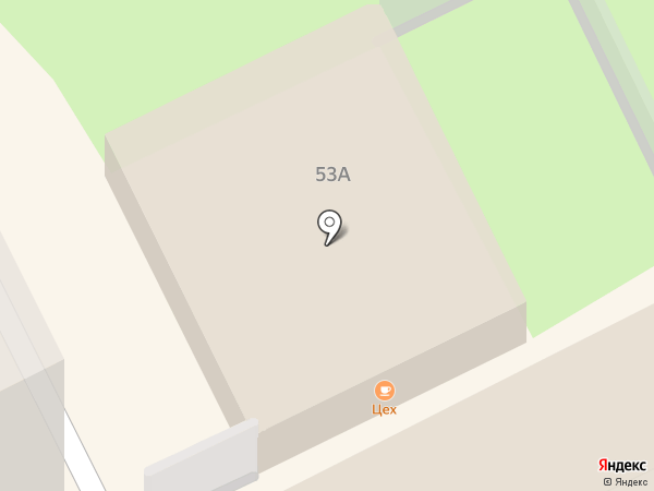 Hot walk на карте Перми