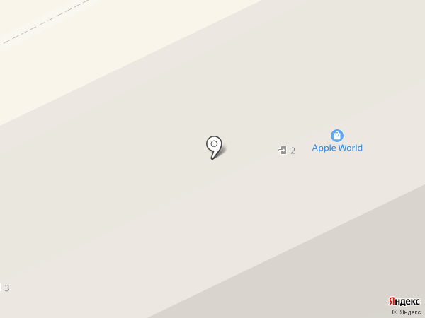 Apple World на карте Перми