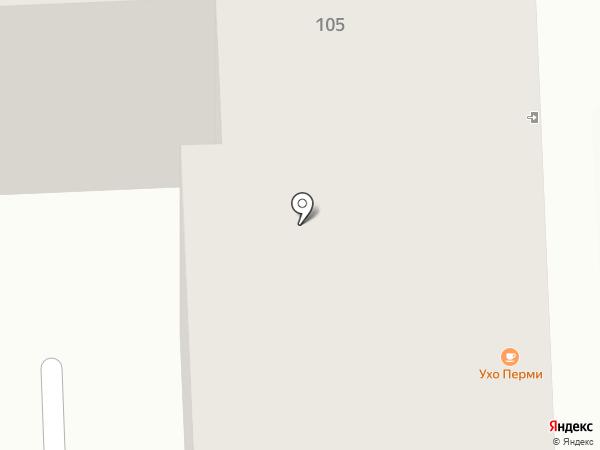Швейный салон на карте Перми