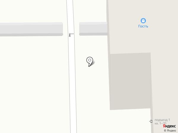 ГОСТъ на карте Перми