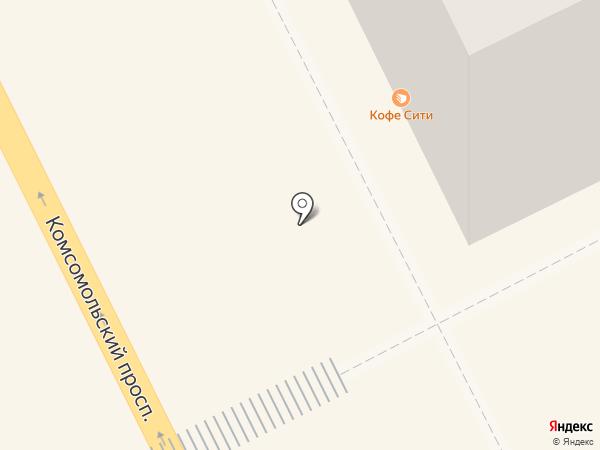 Кофе Сити на карте Перми