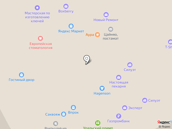 Slimclub на карте Перми