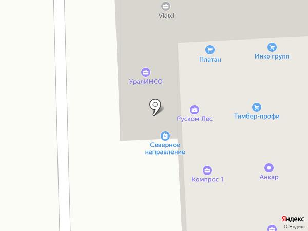 Юхневич, Леготкин и партнеры на карте Перми