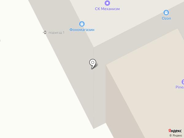 ПРИС на карте Перми