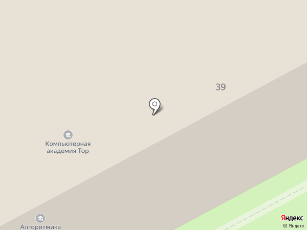 Теплофф на карте Перми