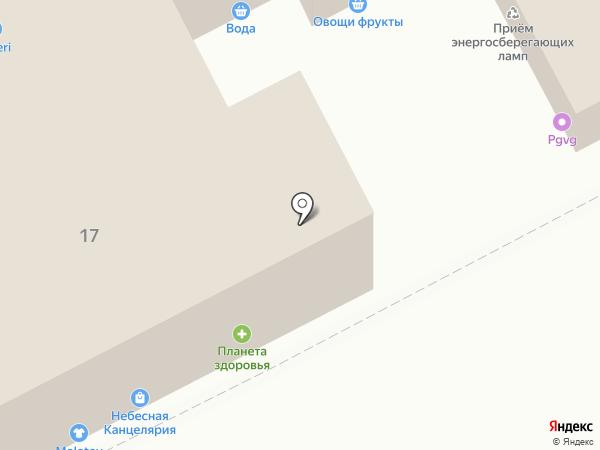 БлинСити на карте Перми